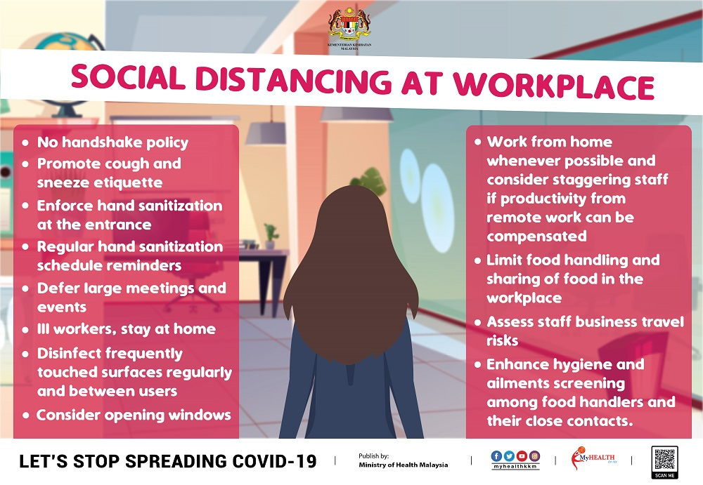 SocialDistancing workplace